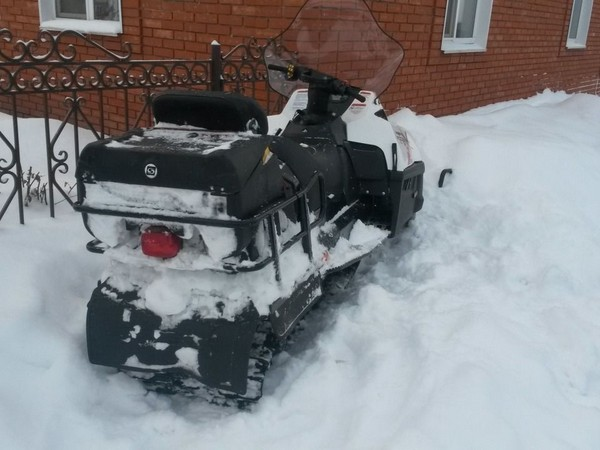 Фотогалерея снегоход Stels s800 фото - 8