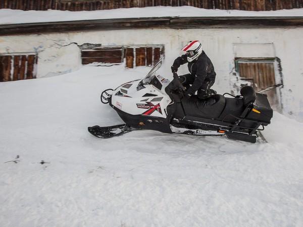 Фотогалерея снегоход Stels s800 фото - 12