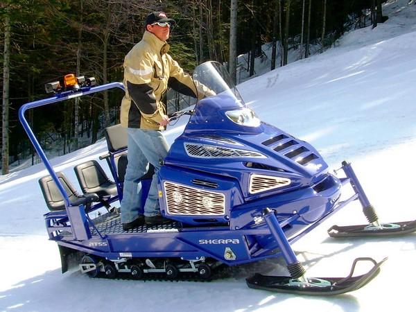 Фотогалерея итальянских снегоходов Alpina фото - 6