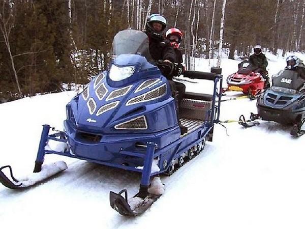 Фотогалерея итальянских снегоходов Alpina фото - 7
