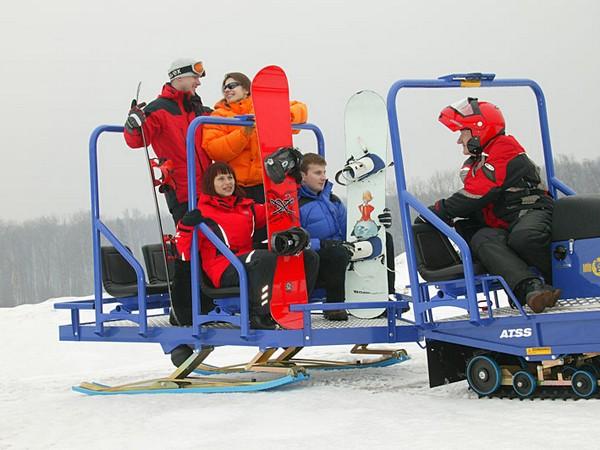 Фотогалерея итальянских снегоходов Alpina фото - 8