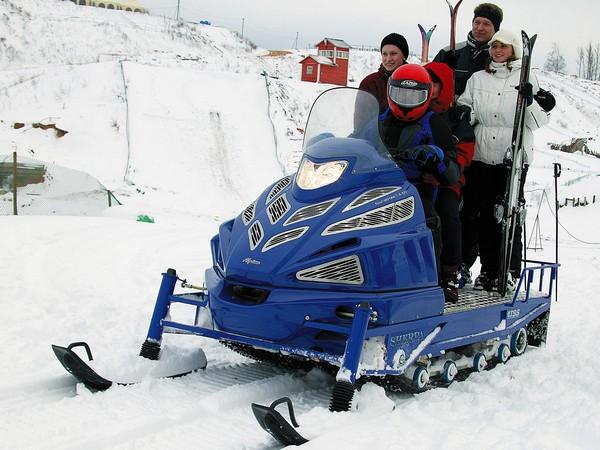 Фотогалерея итальянских снегоходов Alpina фото - 3