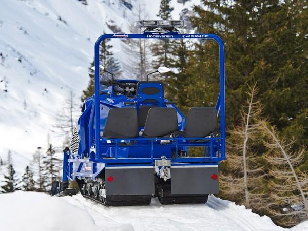 Фотогалерея итальянских снегоходов Alpina фото - 5