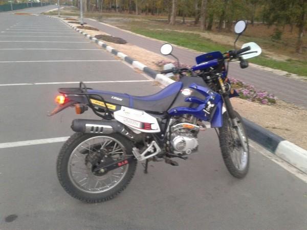 Фотогалерея мотоцикла Lifan LF 200 фото - 6