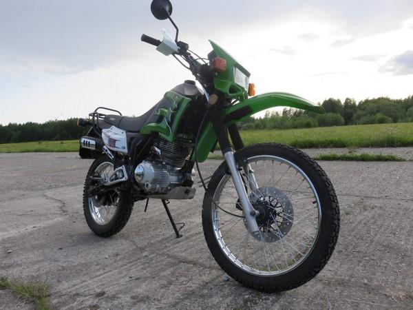 Фотогалерея мотоцикла Lifan LF 200 фото - 8