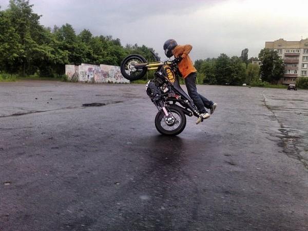Фотогалерея мотоцикла Motard 200 фото - 12