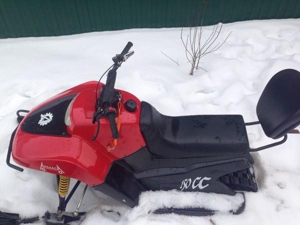 Фотогалерея модельный ряд снегоходов ArmadA фото - 10
